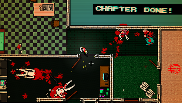The blood bath gets greater and greater in Hotline Miami