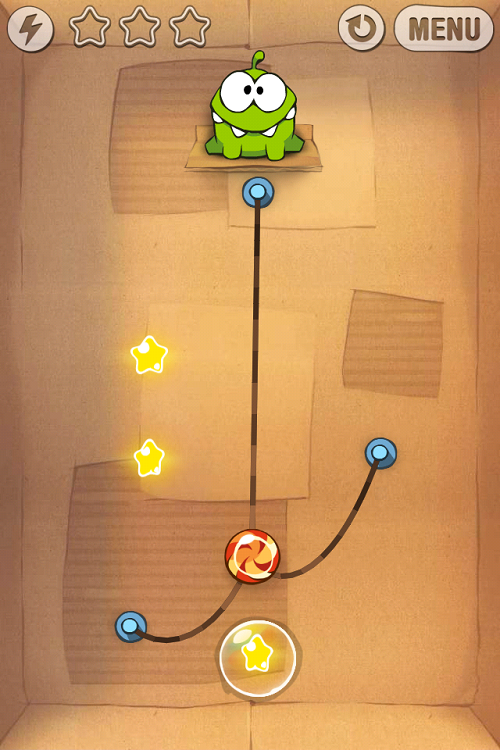 Cut the Rope mobile game