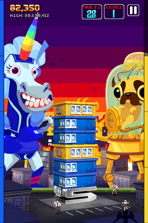 Monsters Ate My Condo mobile game