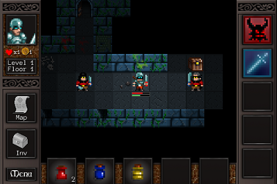 Cardinal Quest roguelike