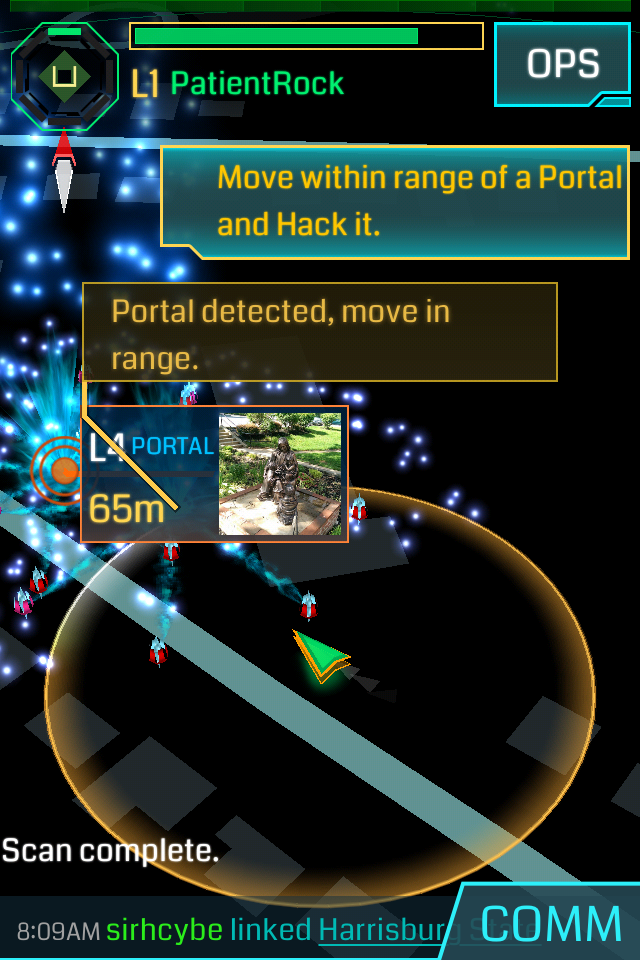 Ingress level one