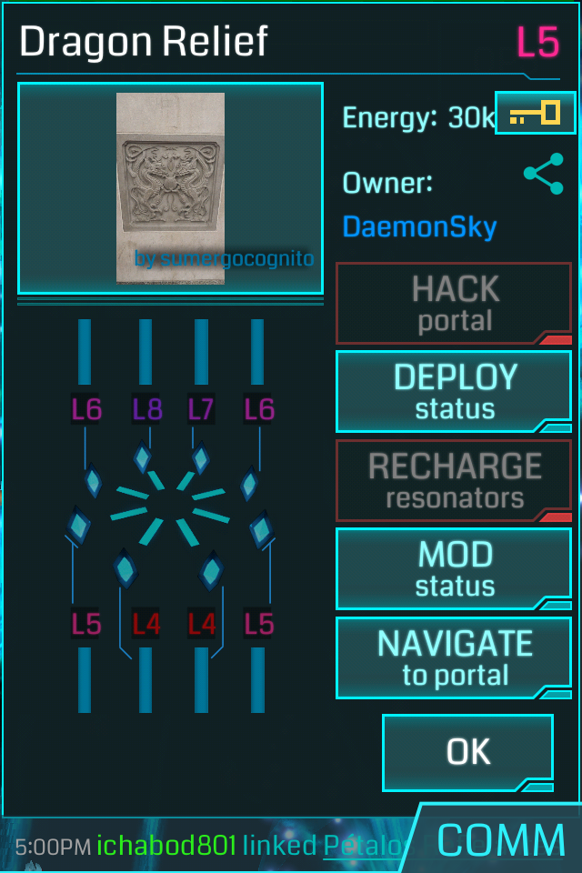 An Ingress portal