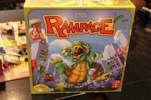 Rampage, the board game