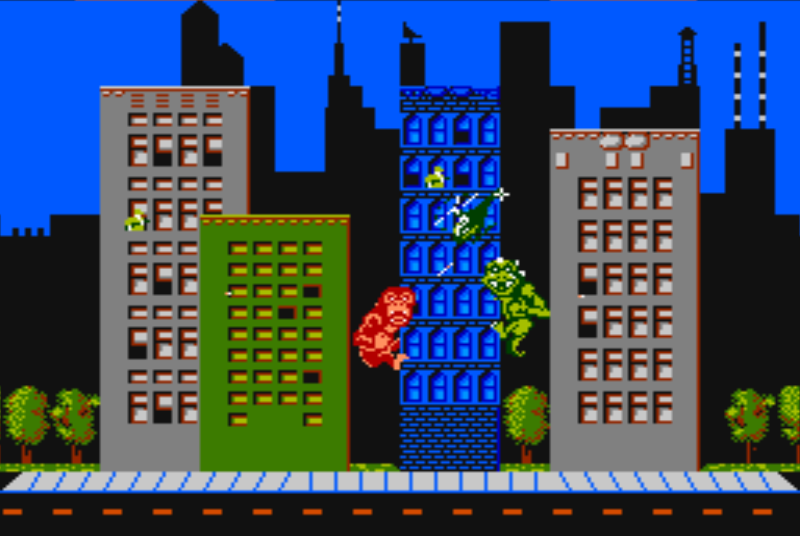 Rampage on the NES