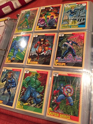Marvel Comic Book Cards