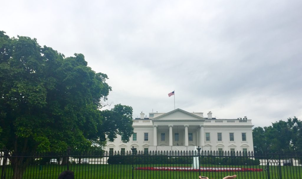 Visiting THE White House while experiencing Silent History