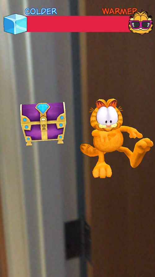 Garfield Go Augmented Reality
