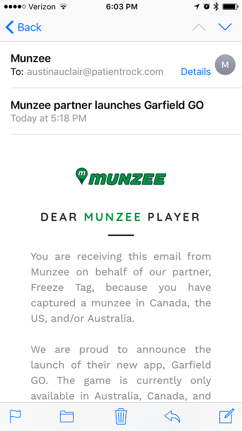 Munzee sold me out