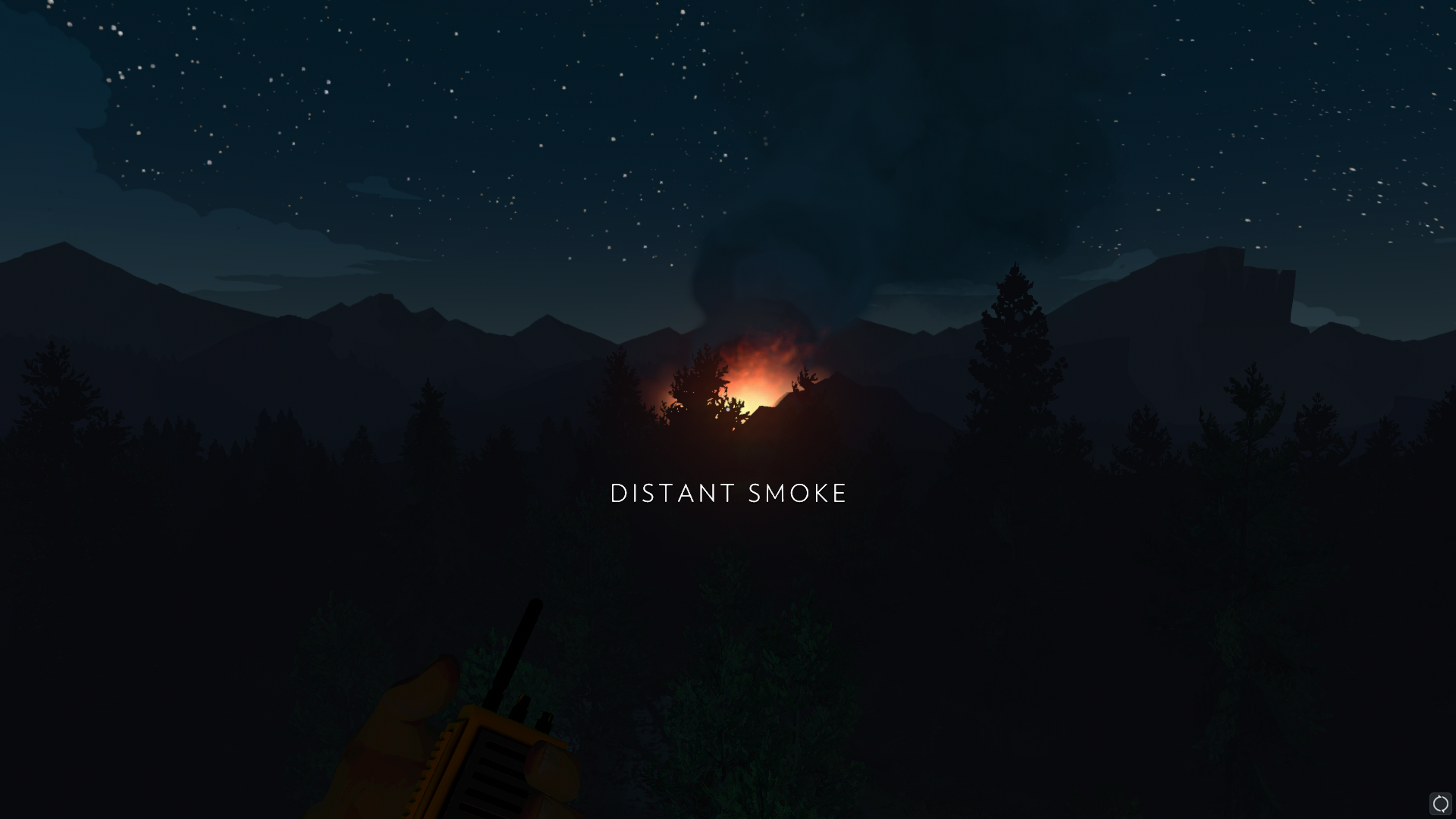 A distant fire in Firewatch