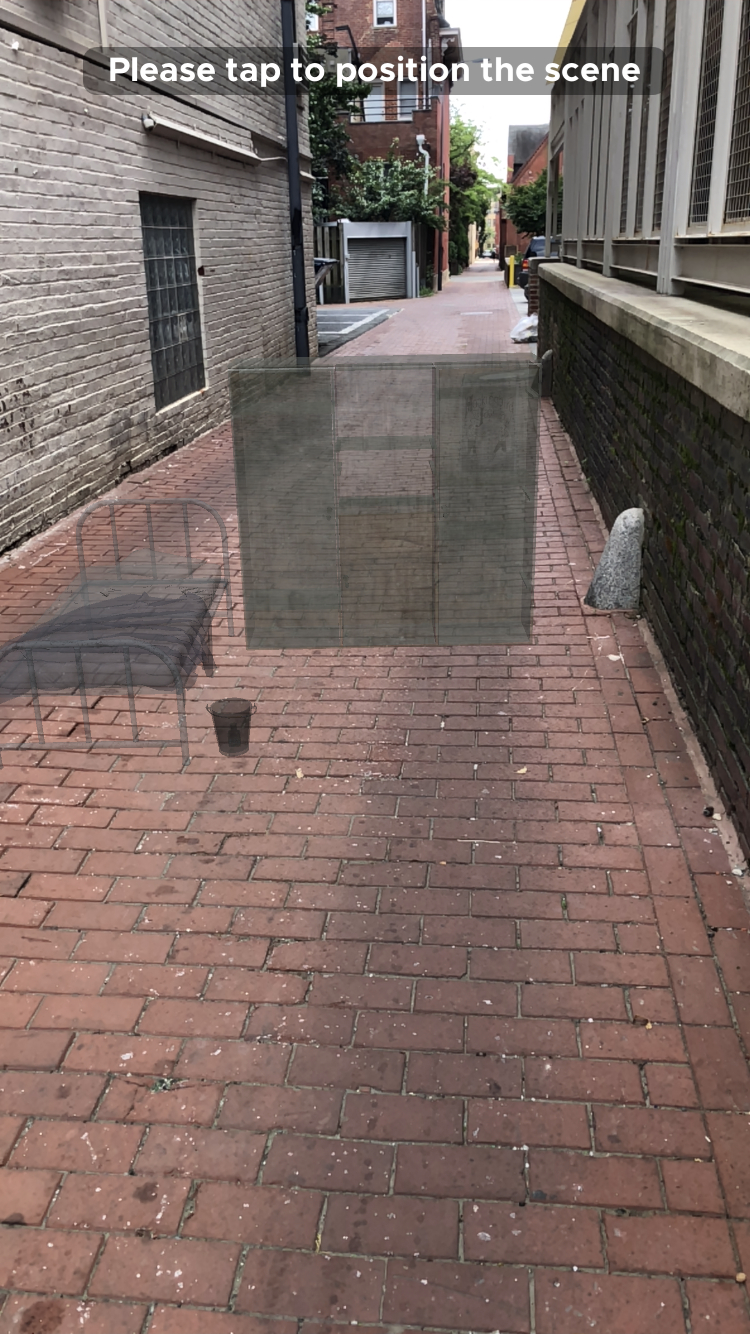 Ducking into an alley with Silent Streets