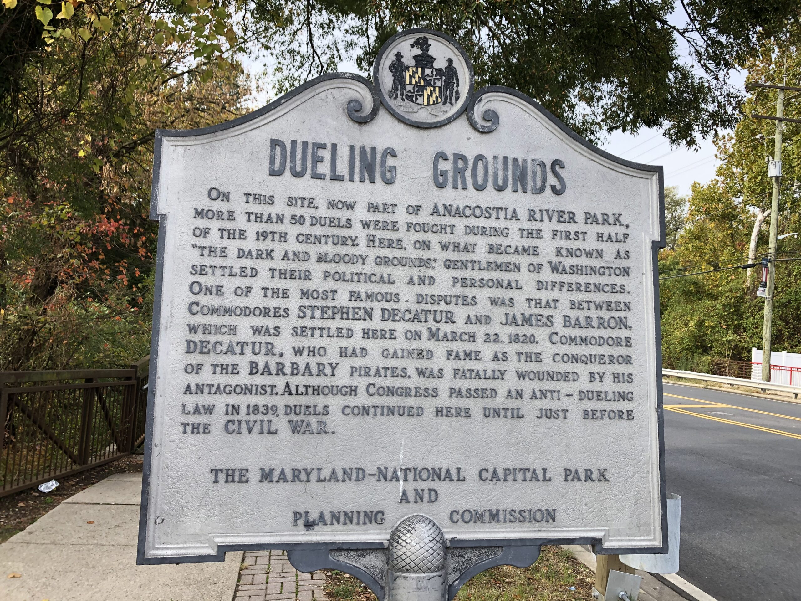 Bladensburg Dueling Grounds