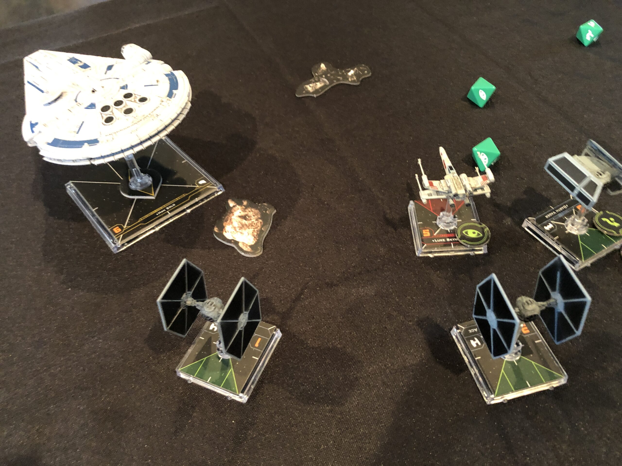 X-Wing Miniatures Game, another fierce battle