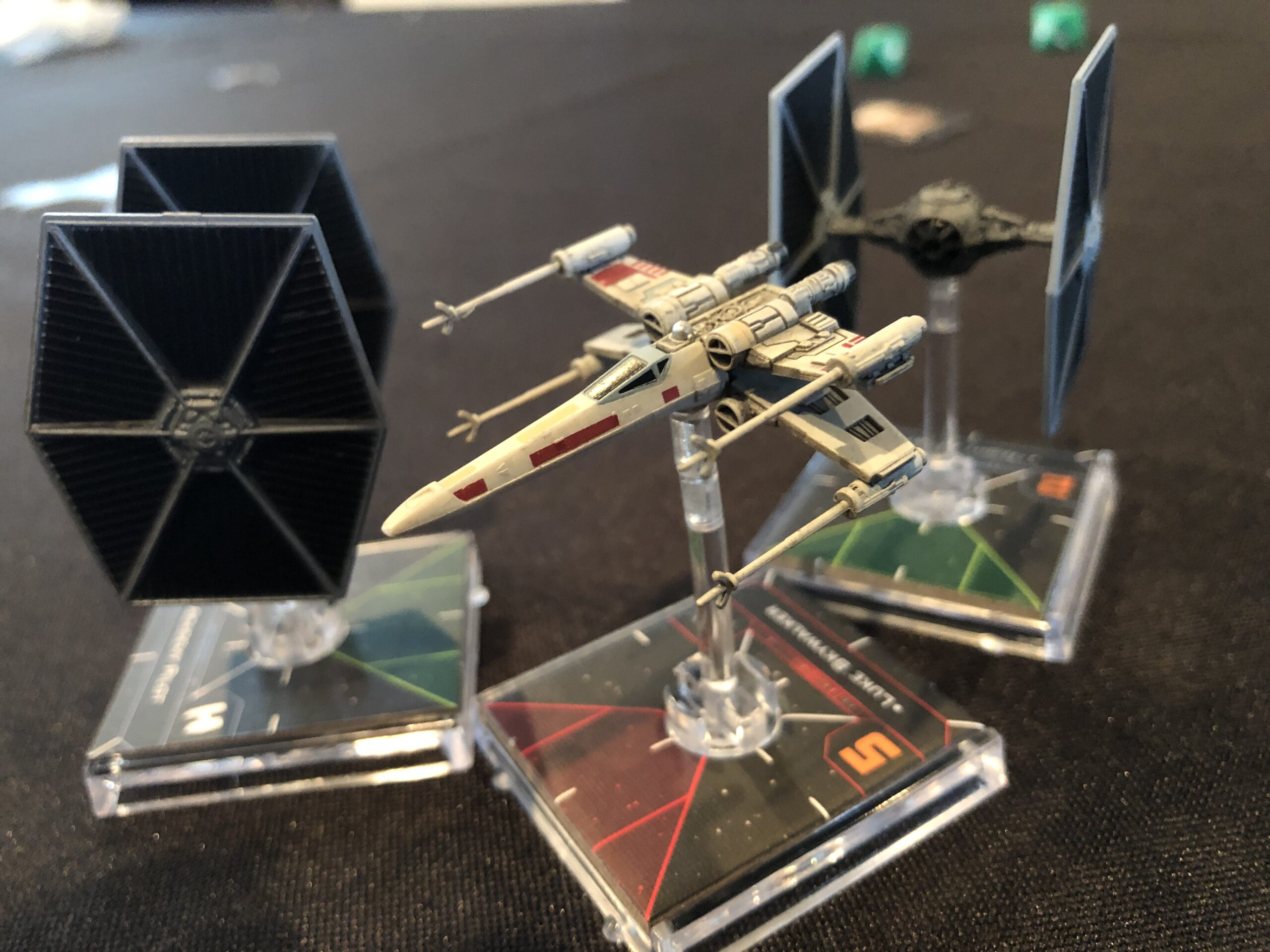 X-Wing Miniatures Game, a collision