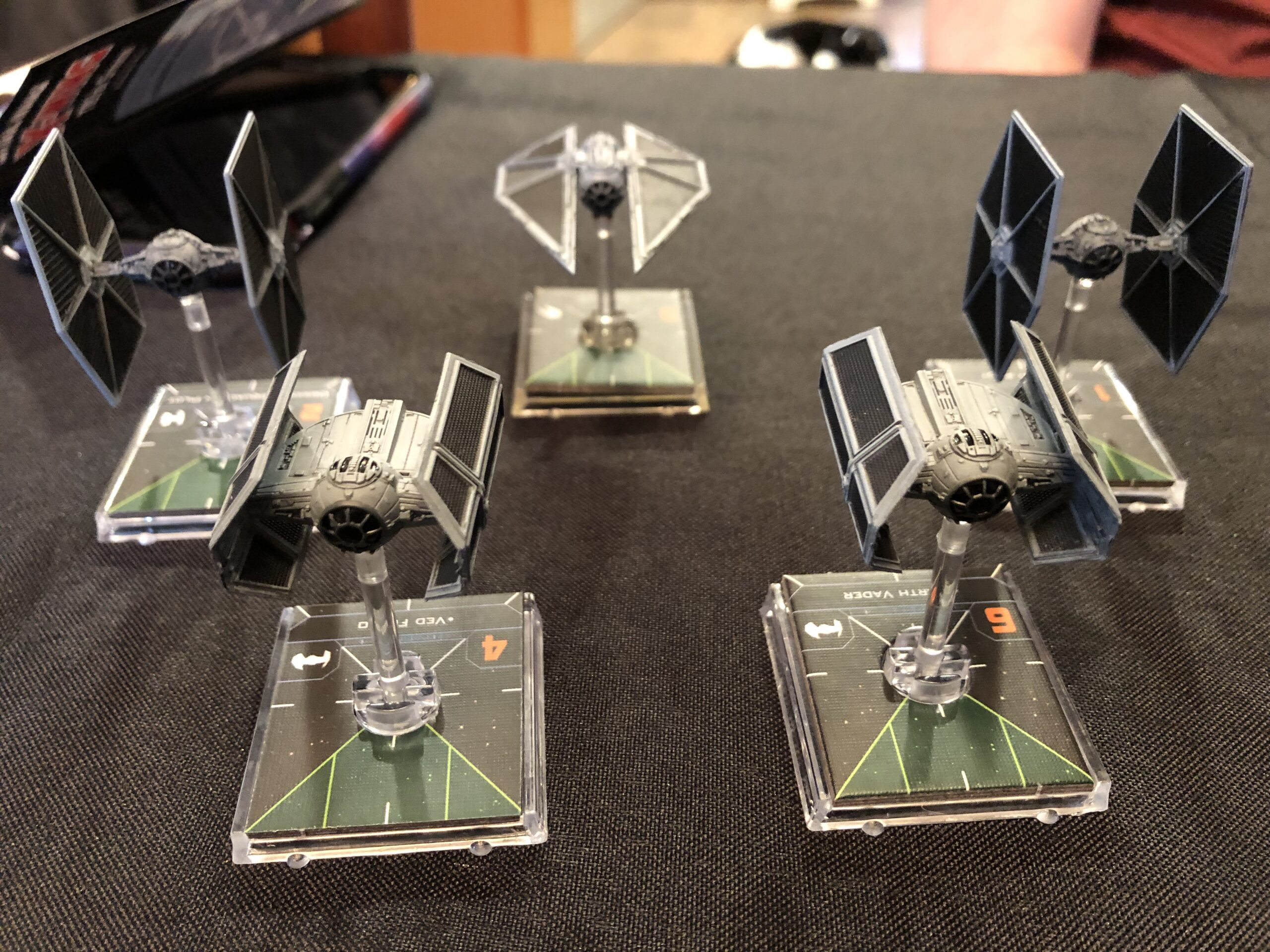 X-Wing Miniatures Game, the empire fleet