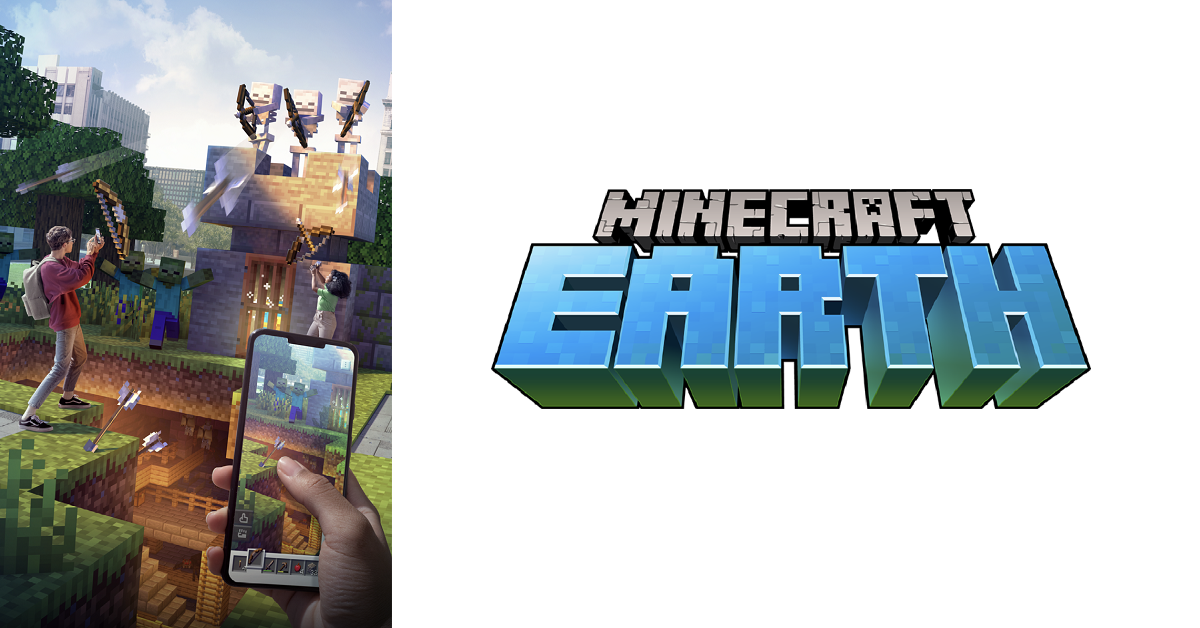 Minecraft Earth banner image